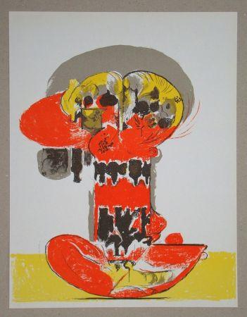 Litografía Sutherland - Composition pour XXe Siècle