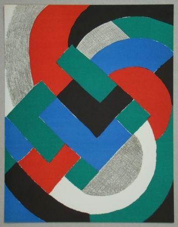 Litografía Delaunay - Composition pour XXe Siècle, 1969