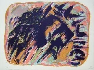 Litografía Manessier - Composition V