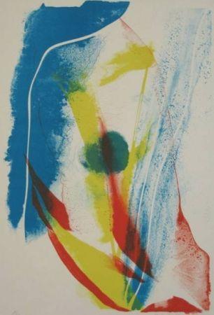 Litografía Jenkins - Composition V