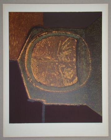 Serigrafía Piaubert - Composition VI.-1964