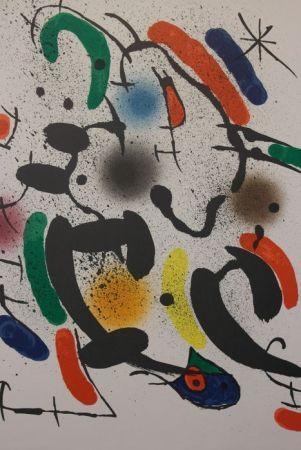 Litografía Miró - Composition Xiii