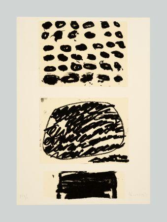 Litografía Kounellis - Composizione