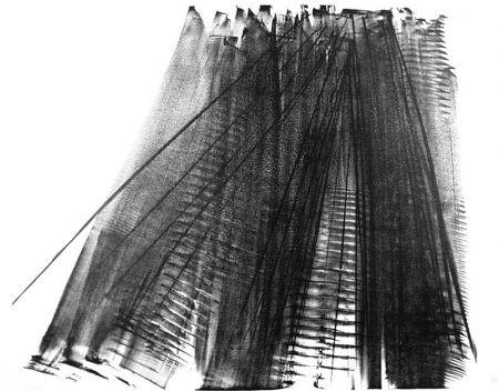 Litografía Hartung - Composizione