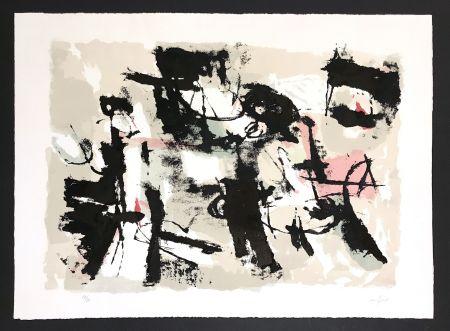 Litografía Afro - Composizione