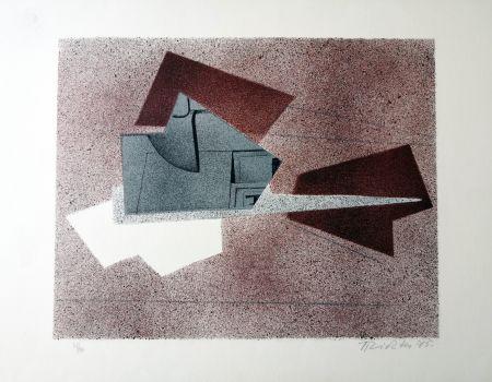 Litografía Richter - Composizione