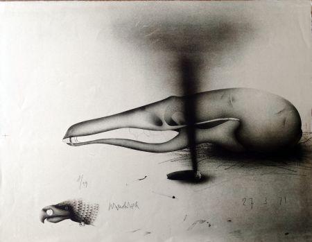 Litografía Wunderlich - Composizione