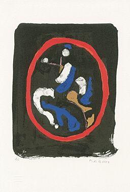 Litografía Marini - Composizione