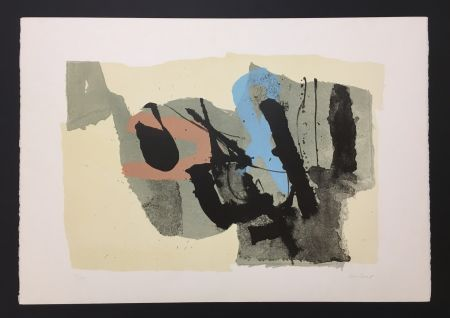 Litografía Afro - Composizione - Le Due Ragazze, 1967
