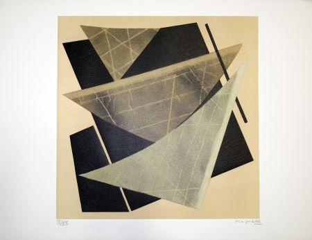Litografía Magnelli - Composizione 1