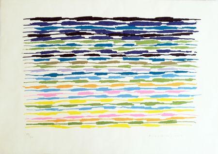 Litografía Dorazio - Composizione 2