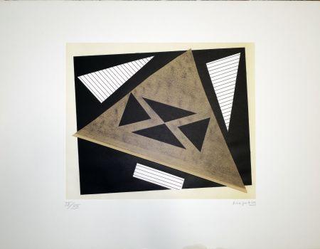 Litografía Magnelli - Composizione 2