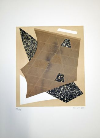 Litografía Magnelli - Composizione 3