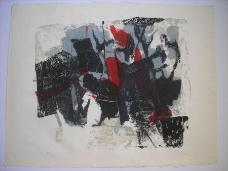Litografía Afro - Composizione II
