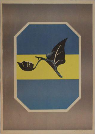 Litografía Mattioli - Composizione in grigio