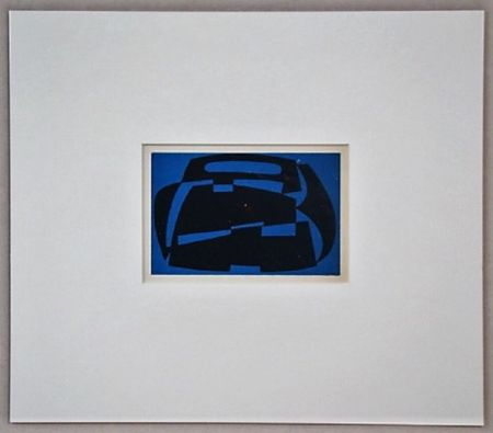 Grabado En Madera Reggiani - Composizione non figurativo