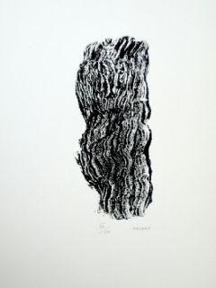 Litografía Michaux - Compostion 127