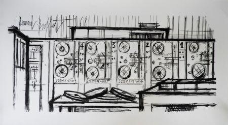 Litografía Buffet - Computer, Siemens,