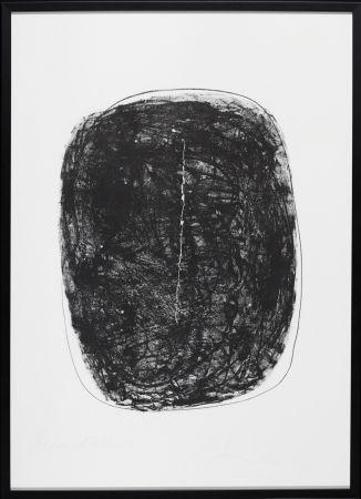 Litografía Fontana - Concetto Spaziale N.1