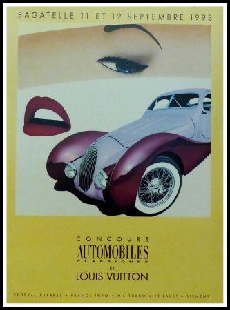 Cartel Razzia - CONCOURS AUTOMOBILES CLASSIQUES