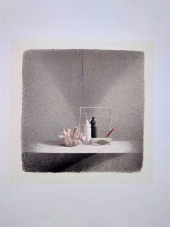 Litografía Ferroni - Cono d'ombra
