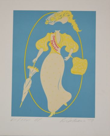 Litografía Indiana - Constance Fletcher - Mother of us all portfolio