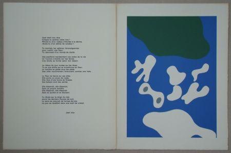 Serigrafía Arp - Constellation, 1956