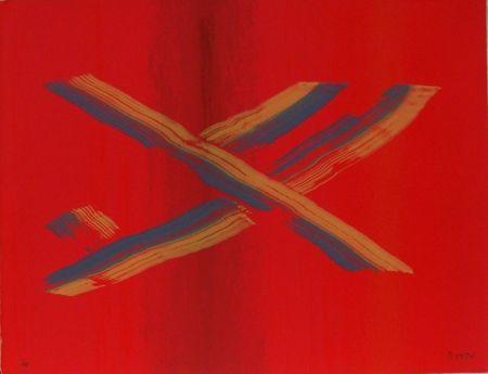 Serigrafía Broto - Contra rojo