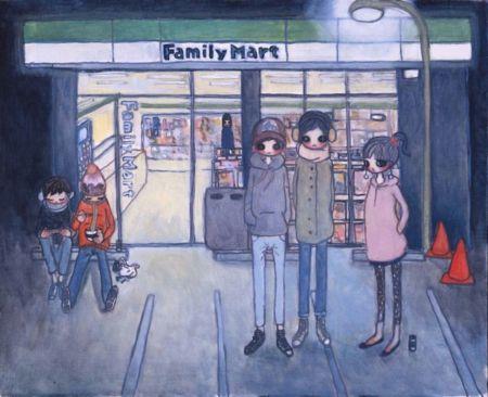 Litografía Takano - Convenience Store
