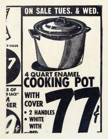 Serigrafía Warhol - Cooking Pot (FS II.1)