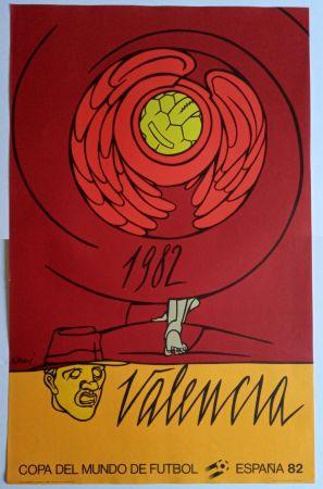 Cartel Adami - Copa del Mundo 1982 - Valencia