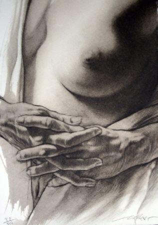Litografía Pignon-Ernest - Corps d'extase