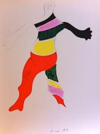 Grabado Miró (After) - Costume de la toupie