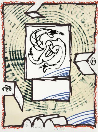 Litografía Alechinsky - Coup d'oeil