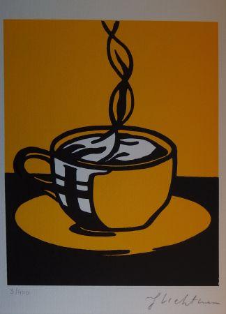 Serigrafía Lichtenstein - Coup Of Coffee