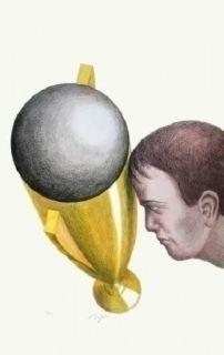 Litografía Topor - Coupe du monde 82