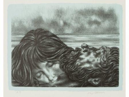 Litografía Hirsch - Couples (includes