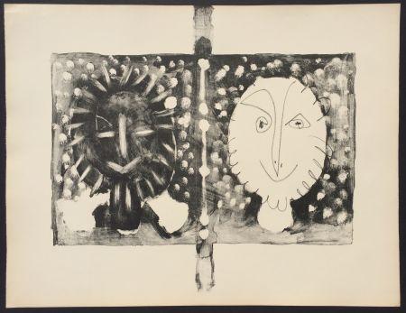Litografía Picasso - Couverture Mourlot I (B. 591)