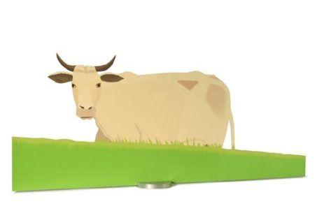 Serigrafía Katz - Cow