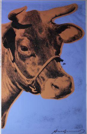 Serigrafía Warhol - Cow (FS II.11A)