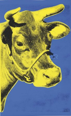 Serigrafía Warhol - Cow (Fs Ii.12)
