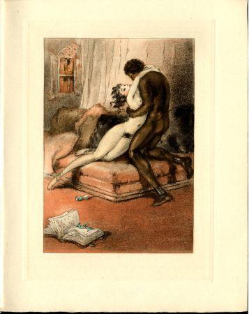 Libro Ilustrado Icart - CRÉBILLON, Fils : LE SOPHA.23 eaux-fortes originales en couleurs de Louis Icart.