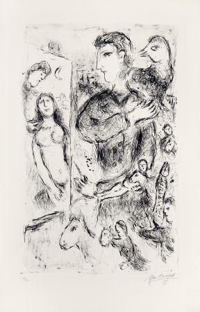 Litografía Chagall - Création
