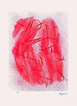 Litografía Bazaine - Crépitement