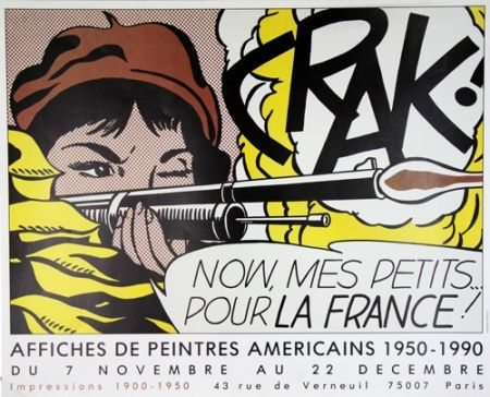 Offset Lichtenstein - Crak Now Mes Petits pour la France
