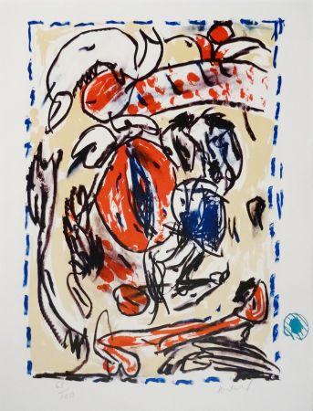 Litografía Alechinsky - Crayon sur coquille - Cerclitude