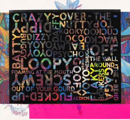 Serigrafía Bochner - Crazy (With Background Noise)