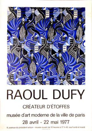 Offset Dufy - Createur D'Etoffes  Musee D'art Moderne