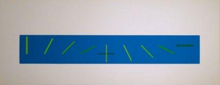 Serigrafía Vieira - Croisement de directions opposées : 7 condictions de saturation chromatique