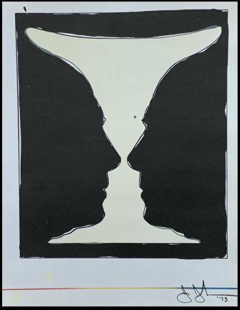 Litografía Johns - Cup Two Picasso